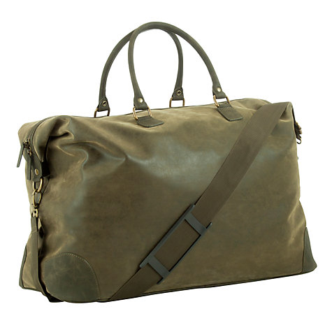 Buy John Lewis Milano Giant Faux Suede Extra Large Holdall Online at johnlewis.com