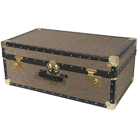 Buy John Lewis Harris Tweed 91L Traditional Attache Trunk Online at johnlewis.com