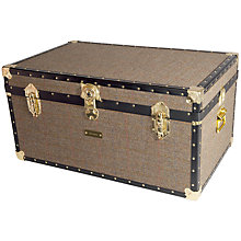 Buy John Lewis Harris Tweed 173L Traditional Storer Trunk Online at johnlewis.com