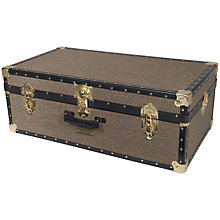 Buy John Lewis Harris Tweed 121L Traditional Hand Trunk Online at johnlewis.com
