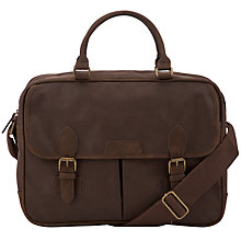 Buy John Lewis Cambridge Work Bag, Brown Online at johnlewis.com