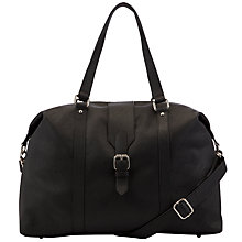Buy John Lewis Como Buckle Holdall, Black Online at johnlewis.com