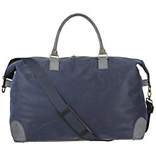 Buy John Lewis Milano Holdall, Navy Online at johnlewis.com