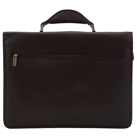 Buy John Lewis Dalaman Briefcase, Brown Online at johnlewis.com