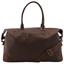 Buy John Lewis Cambridge PU Large Explorer Bag, Brown Online at johnlewis.com