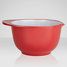 Buy ColourWorks Mixing Bowl, Red Online at johnlewis.com