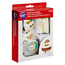Buy Wilton Snowmen Cupcake Decorating Kit Online at johnlewis.com