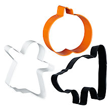 Buy Wilton Halloween Cookie Cutters Online at johnlewis.com