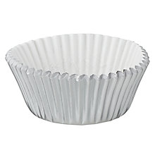 Buy Wilton Silver Mini Cake Cases, 36 Pieces Online at johnlewis.com