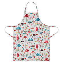 Buy Cath Kidston Mushroom PVC-coated Adjustable Apron Online at johnlewis.com