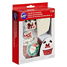 Buy Wilton Santa Cupcake Decorating Kit Online at johnlewis.com