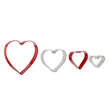 Buy Wilton Nesting Hearts Cookie Cutters Online at johnlewis.com