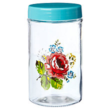 Buy Cath Kidston Kentish Road Storage Jar, Blue Online at johnlewis.com