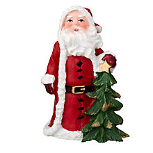 Buy John Lewis Father Christmas and Tree Cake Topper Online at johnlewis.com