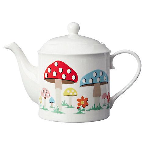 Buy Cath Kidston Mushroom Teapot, 1.3L Online at johnlewis.com