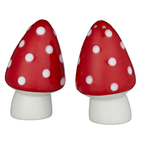 Buy Cath Kidston Mushroom Salt and Pepper Shakers Online at johnlewis.com