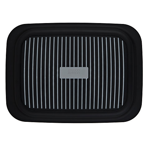 Buy Joseph Joseph Grip Tray, Small, Black Online at johnlewis.com