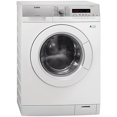 Buy AEG L76475FL Washing Machine, 7kg Load, A+++ Energy Rating, 1400rpm Spin, White Online at johnlewis.com