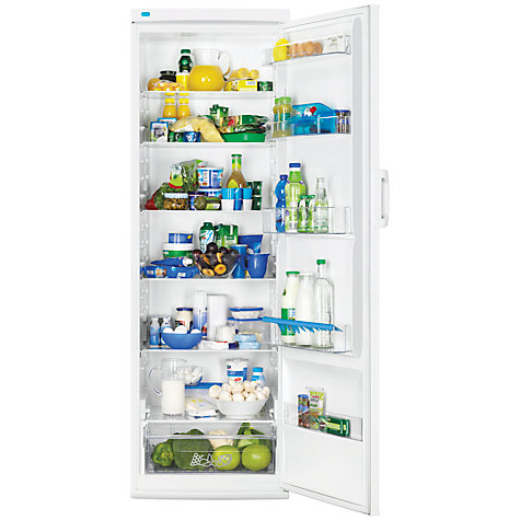 Buy Zanussi ZRA40100WA Tall Larder Fridge, A+ Energy Rating, 60cm Wide, White Online at johnlewis.com
