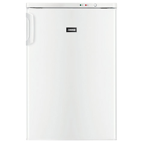 Buy Zanussi ZFT11100WA Freezer, A+ Energy Rating, 55cm Wide, White Online at johnlewis.com