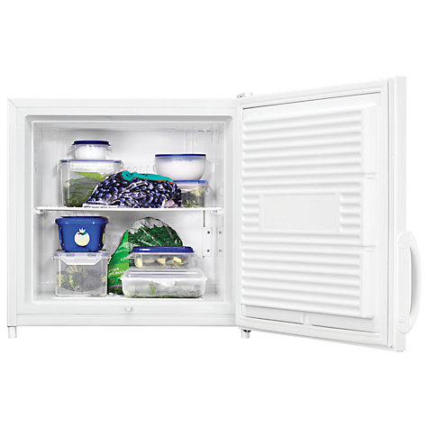 Buy Zanussi ZFX51400WA Compact Freezer, A+ Energy Rating, 52.5cm Wide, White Online at johnlewis.com