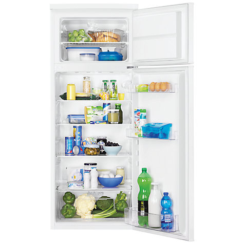 Buy Zanussi ZRT23102WA Fridge Freezer, A+ Energy Rating, 55cm Wide, White Online at johnlewis.com