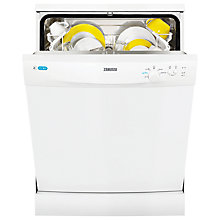 Buy Zanussi ZDF12002WA Freestanding Dishwasher, White Online at johnlewis.com