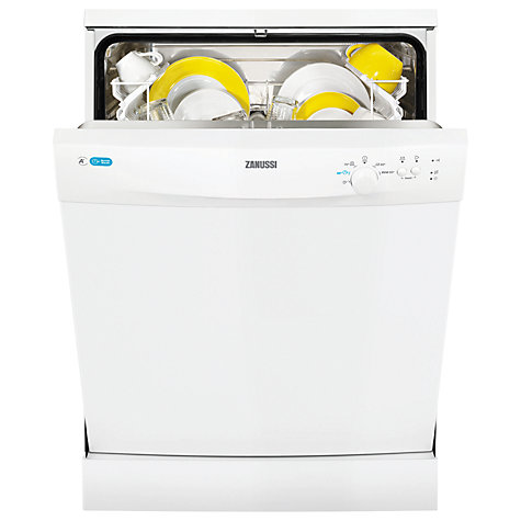 Buy Zanussi ZDF12002WA Dishwasher, White Online at johnlewis.com
