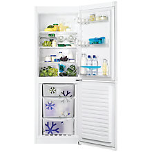 Buy Zanussi ZRB32212WA Fridge Freezer, A+ Energy Rating, 60cm Wide, White Online at johnlewis.com