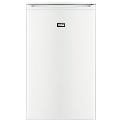 Buy Zanussi ZRG11600WA Larder Fridge, A+ Energy Rating, 50cm Wide, White Online at johnlewis.com