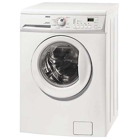Buy Zanussi ZKG7125 Washer Dryer, 6kg Wash/4kg Dry Load, C Energy Rating, 1200rpm Spin, White Online at johnlewis.com