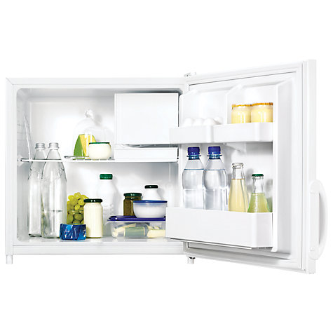 Buy Zanussi ZRX71100WA Compact Fridge with Freezer Compartment, A+ Energy Rating, 52.5cm Wide, White Online at johnlewis.com