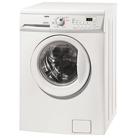 Buy Zanussi ZWJ14591W Washing Machine, 8kg Load, A+++ Energy Rating, 1400rpm Spin, White Online at johnlewis.com