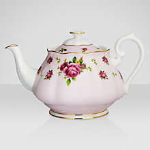 Buy Royal Albert Country Rose Teapot Online at johnlewis.com