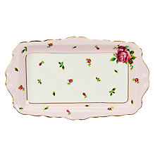 Buy Royal Albert Country Rose Sandwich Tray Online at johnlewis.com