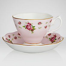 Buy Royal Albert Country Rose Cup & Saucer Online at johnlewis.com