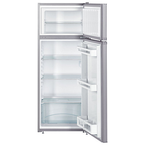 Buy Liebherr CTPSL2521 Fridge Freezer, A++ Energy Rating, 55cm Wide, Silver Online at johnlewis.com