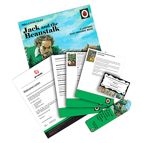 Buy Jack and the Beanstalk Personalised Book Online at johnlewis.com