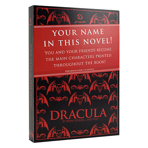 Buy Dracula Personalised Book Online at johnlewis.com