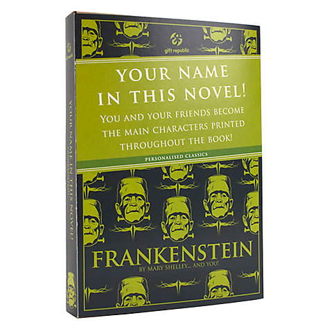 Buy Frankenstein Personalised Book Online at johnlewis.com