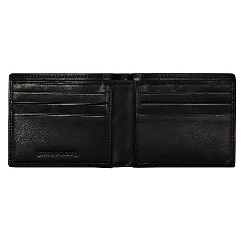 Buy Smith & Canova Leather Wallet, Black Online at johnlewis.com