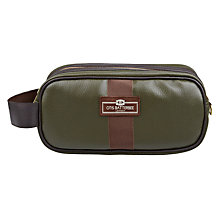 Buy Otis Batterbee Axington Wash Bag, Green, Small Online at johnlewis.com