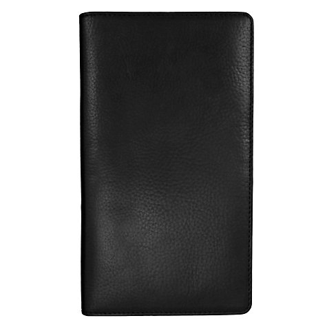 Buy Smith & Canova Travel Wallet, Black Online at johnlewis.com