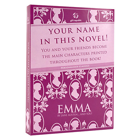 Buy Emma Personalised Book Online at johnlewis.com