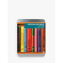 Buy Personalised Book Gift Box Online at johnlewis.com