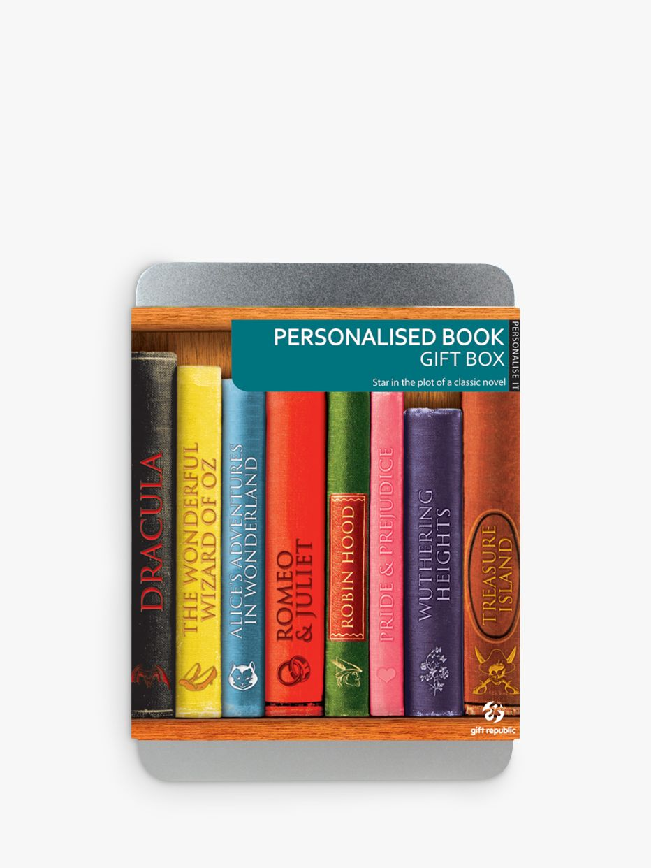 Gift Republic Personalised Book Gift Box