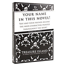 Buy Treasure Island Personalised Book Online at johnlewis.com
