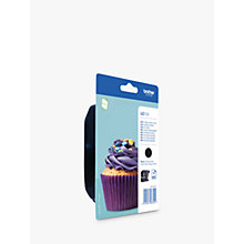 Buy Brother LC123 Inkjet Cartridge, Black Online at johnlewis.com