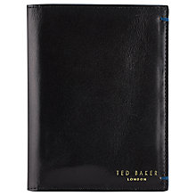 Buy Ted Baker Leather Passport Wallet Online at johnlewis.com
