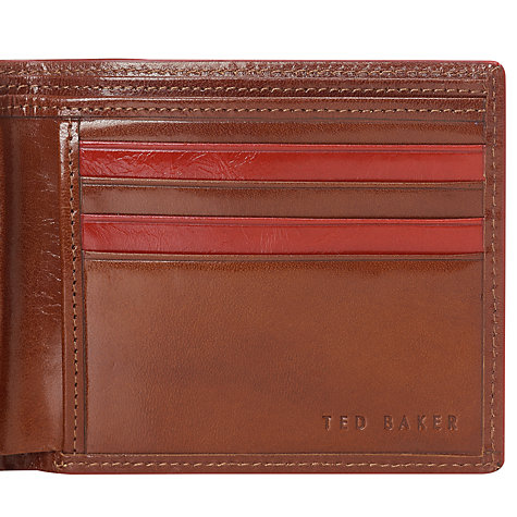 Buy Ted Baker Claudis Leather Bi-Fold Wallet Online at johnlewis.com